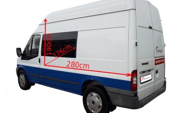 Ford Transit Promocja* 99zł brutto, limit 200 km/dobę