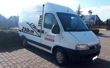 Fiat Ducato 79 zł brutto limit 100 km