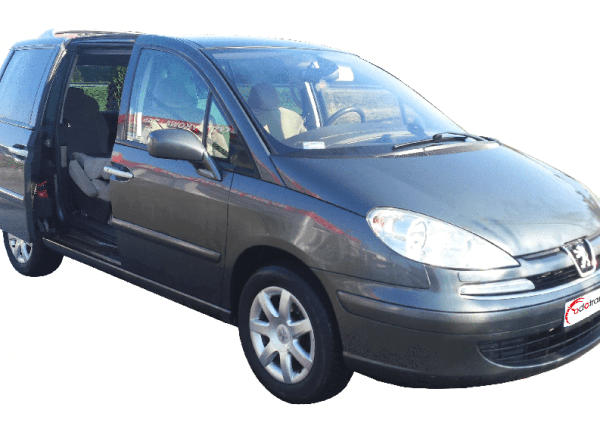 Peugeot 807 7 osobowy bok