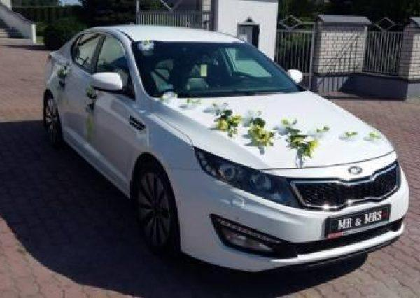 KIA Optima samochód do ślubu